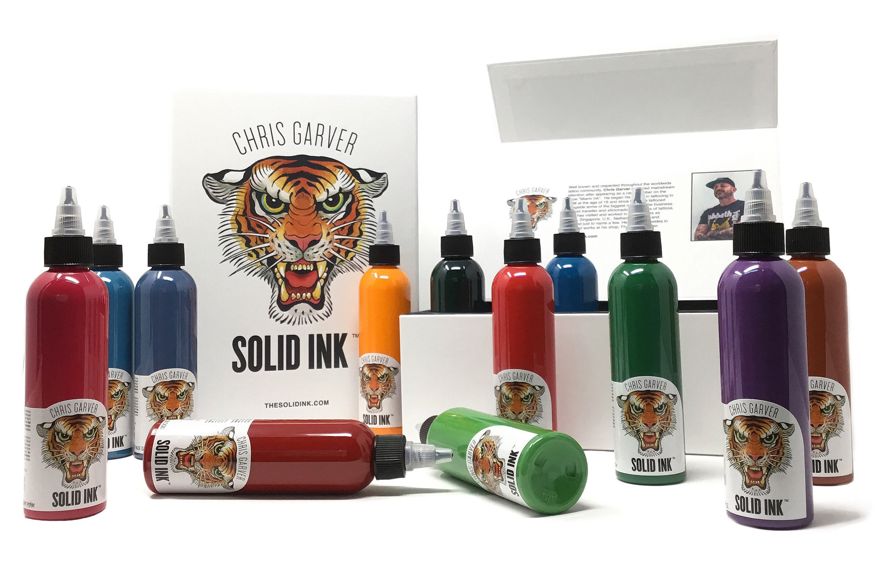 33d890609 Chris Garver 12 Colour 4oz Box Set - Solid Ink - Federico Ferroni ...