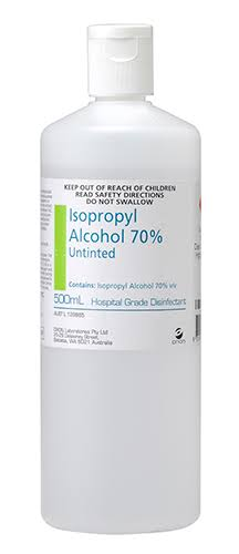Isopropyl Alcohol 70% - 500ml