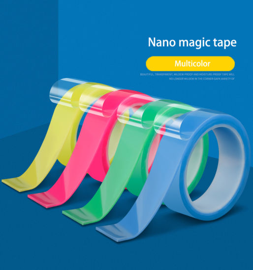 Nano Tape 1 Metre - Multi Purpose Re-usable - Various Colours