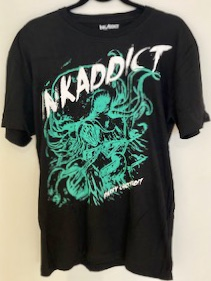 Ink Addict Tee 3 - Made with 100% cotton and available in sizes S-XL