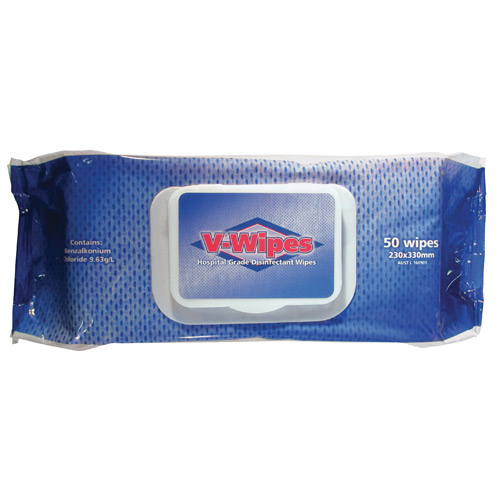 V Wipes - 50 Pack - Whiteley