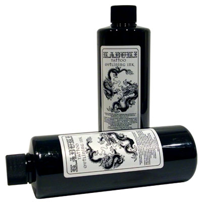 Kabuki Black Outlining - 16oz - Skin Candy