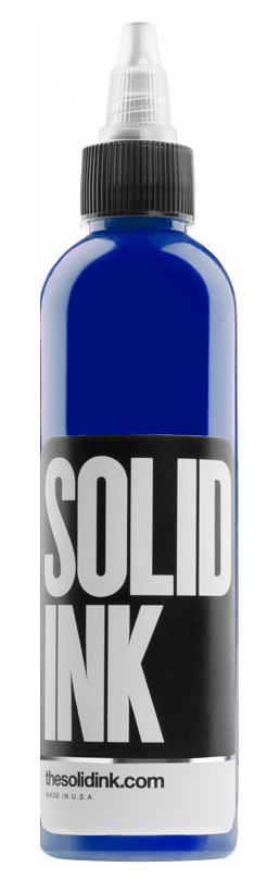 Dark Blue - Solid Ink - Federico Ferroni