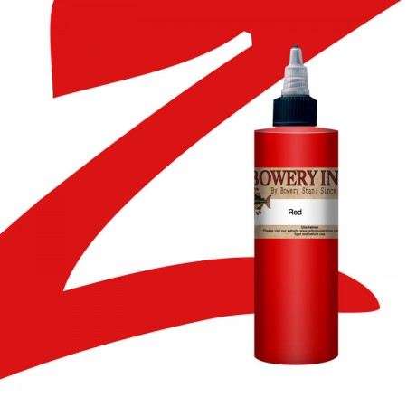 Red - Bowery Ink by Stan Moskowitz - 4oz - Intenze
