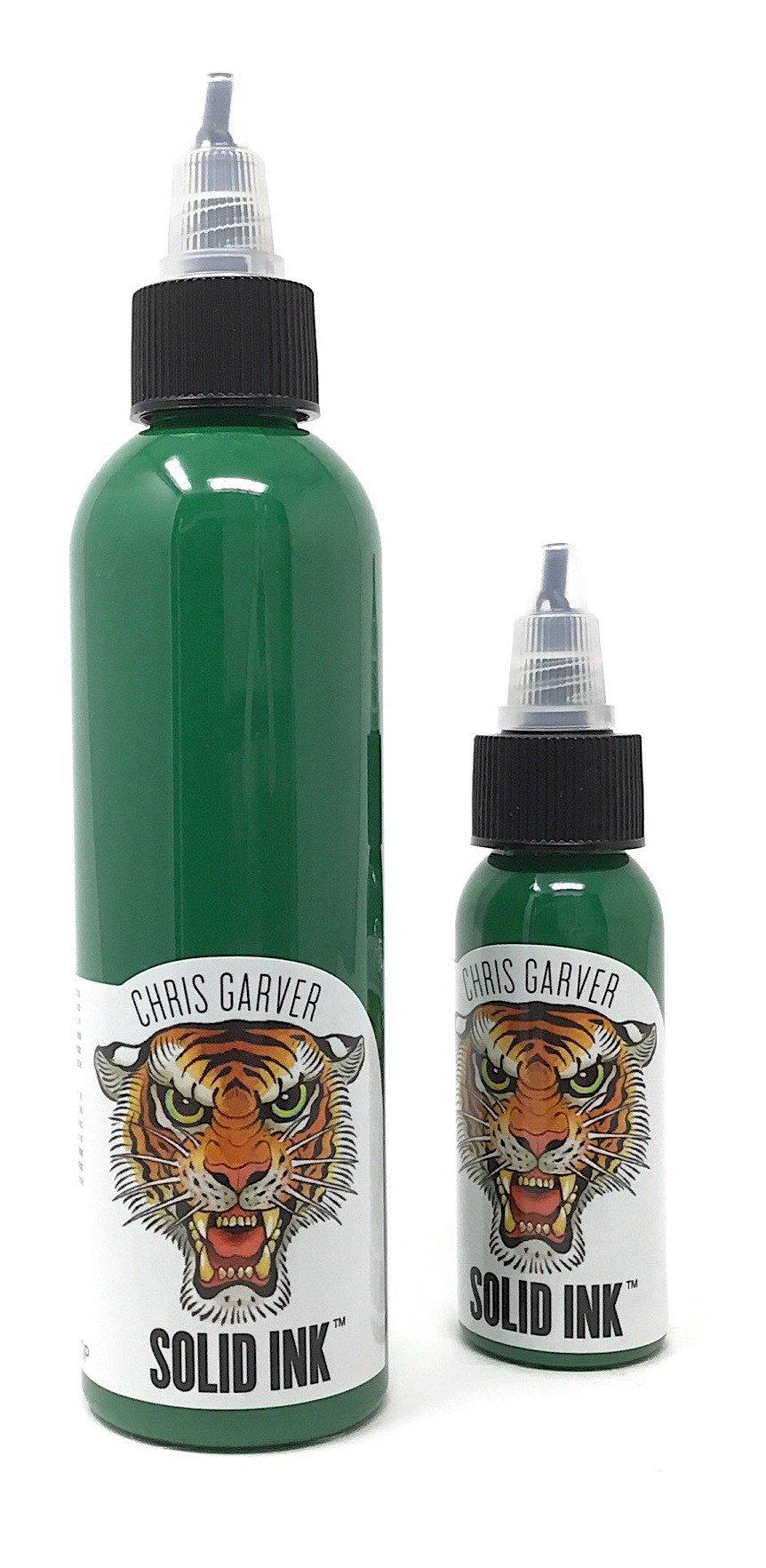 Green Tip - Chris Garver - Solid Ink - Federico Ferroni
