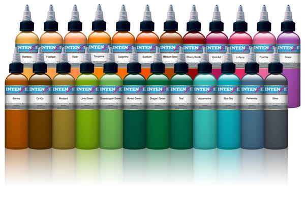 25 Colour Set - Intenze