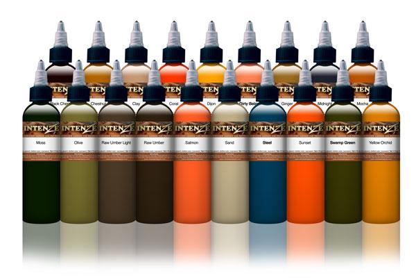 19 Colour - Mike DeMasi Colour Portrait Set - Intenze