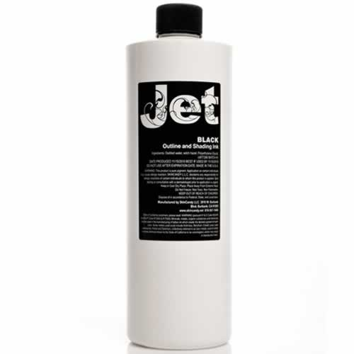 Black Outlining & Shading Ink - 8 Oz - Jet by Skin Candy