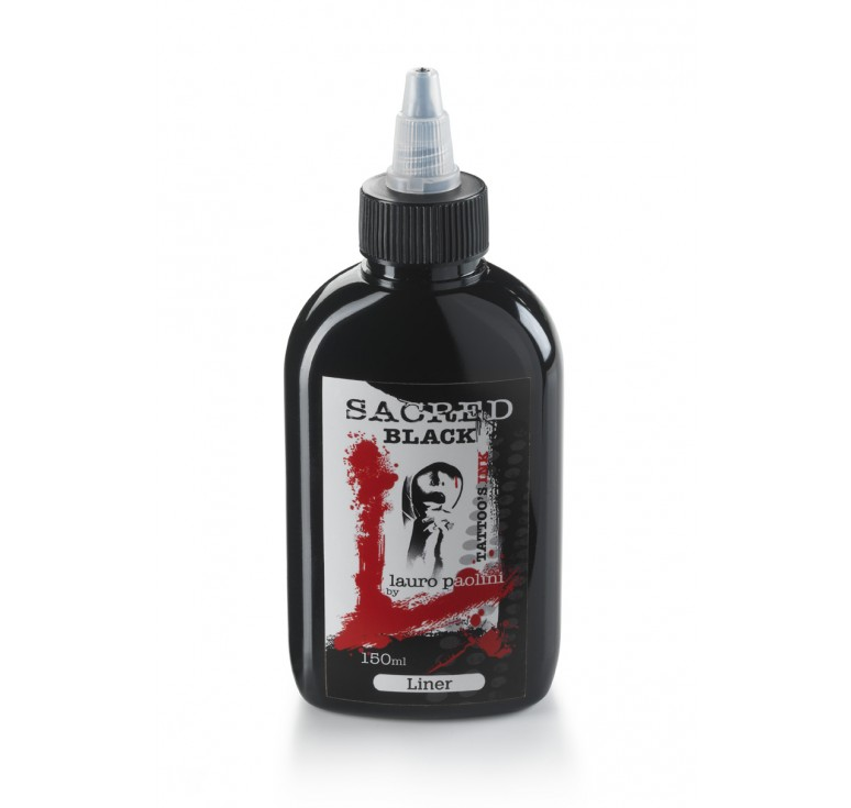 Black Liner - 150ml - Sacred Ink by Lauro Paolini
