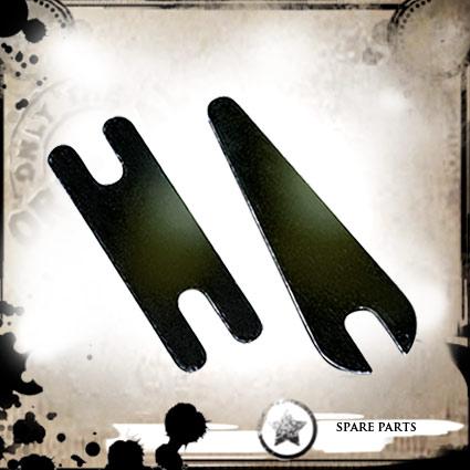 Small Soft Iron Springs Black 10+10 - Lauro Paolini