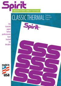 """A4 Spirit Classic Thermal Transfer Paper (""""USA Original"""" not Chinese copy)"""