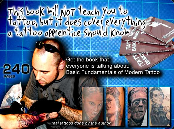 Tattoo Basics - Basic Fundamentals of Modern Tattoo
