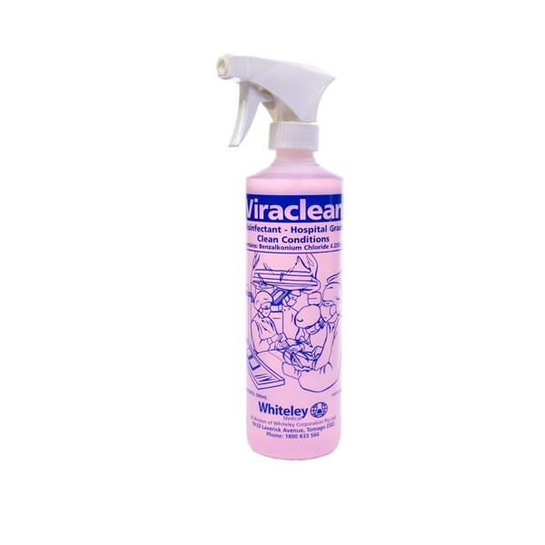 Viraclean Disinfectant Trigger - 500ml - Whiteley