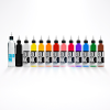 12 Colour Spectrum 1,2 & 4oz Set + Mixer - Solid Ink - Federico Ferroni