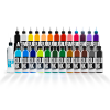 25 Colour Fundamental 1,2 & 4oz Set + Mixer - Solid Ink - Federico Ferroni