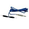 Clip Cord - Blue Silicone