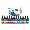 Chris 51 Geek Tattoo Ink Set - Intenze