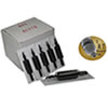 "Mixed Needles, Tip & Disposable Rubber 1"" Grip - 50 per box"