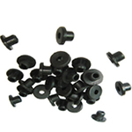 Rubber Nipples - 100 pcs per bag