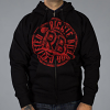 Luxury Hustle Wear Richie Bulldog Certified Hoody with zip up front. Available in sizes S-XL.
