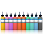 Pastel 10 Colour Set - Intenze