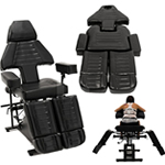 Super Heavy Duty Chair - Black Adjustable
