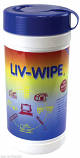 Liv-Wipe Alcohol Wipes (100 Sheets) 70% Isopropyl Alcohol