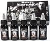 Darkside Black Ink Set - 5 x 150ml Bottles - by Lauro Paolini