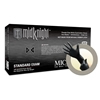 X-Small Midnight - Black Nitrile Glove - 100 gloves per box