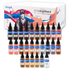 Randy Engelhard Tattoo by Number Ink Set - Intenze - 26 Bottles