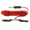 Clip Cord - Red Silicone
