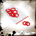 O-ring Red - 10 pieces per bag