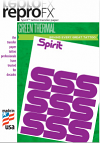 "A4 Spirit Green Thermal Transfer Paper (""USA Original"" not Chinese copy)"