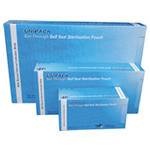 "Autoclave Bags (Large) - Self Sealable & Steam Indicator - 200 per box - 70 x 230mm (2.75"" x 9.05"")"