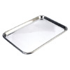Stainless Steel Tray - Flat -  38 x 28.5cm