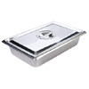 Stainless Steel Tray - Large - Dish & Cover -  32 x 20 x 6.5 cm