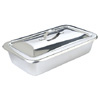 Stainless Steel Tray - Medium - Dish Dish & Cover -  23 x 13 x 5 cm
