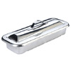 Stainless Steel Tray - Small - Dish Dish & Cover -  22 x 9 x 4 cm