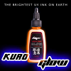 Kuro Sumi - UV Glow Orange - 1oz