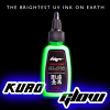Kuro Sumi - UV Glow Green - 1oz