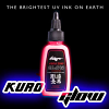 Kuro Sumi - UV Glow Red - 1oz