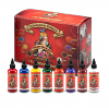 8 Bottle Set 1 - Philadelphia Eddie's Traditional Ink - 1oz Bottles